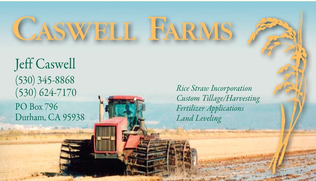 Home Caswell Farms Rice Straw Incorporation
